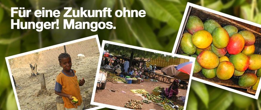 Für eine Zukunft ohne Hunger: Mangos!