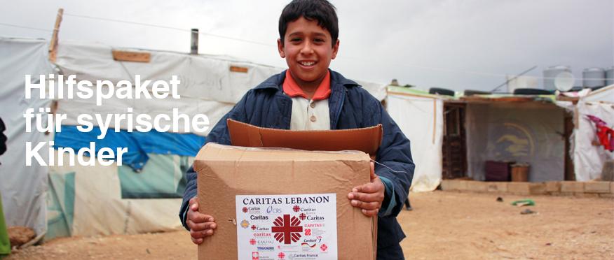 Hilfspaket Syrien.