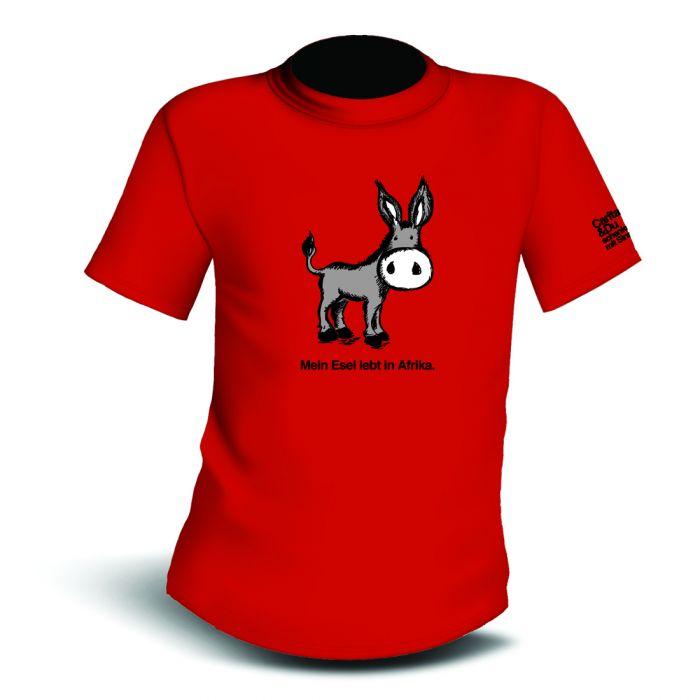 T-Shirt Esel Kinder Vorderansicht