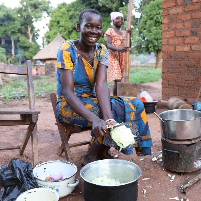 Lebensmittel für Familien in Krisengebieten