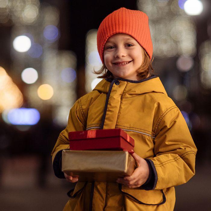 Weihnachtspackerl für Kinder