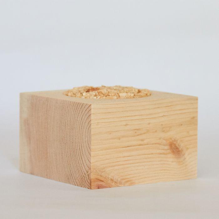 Duftwürfel aus Zirbenholz