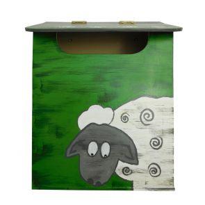 Briefkasten - handbemalt (Modell I)