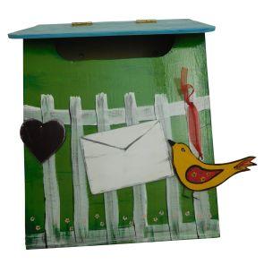 Briefkasten - handbemalt (Modell J)