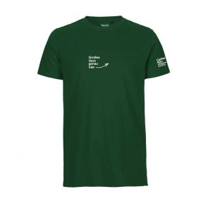 "T-Shirt ""Großes Herz"" Herren Grün"