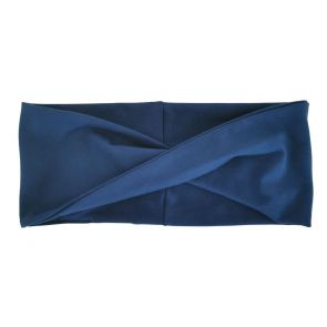 Jersey Haarband blau