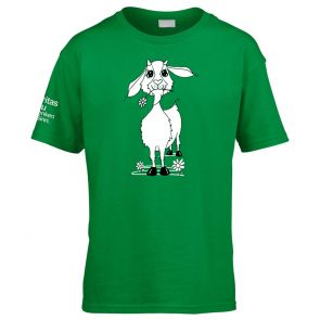T-Shirt Ziege Kinder