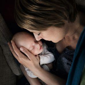 Schlafplatz für Mutter und Kind (Muttertag)