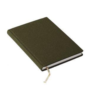 Notizbuch Mandela Grün (Lodentuchumschlag)