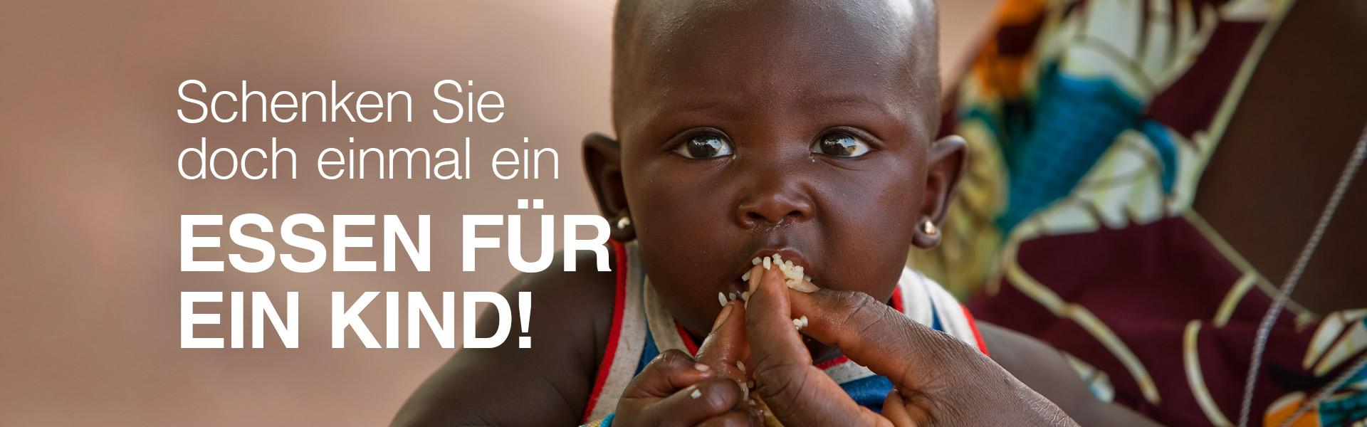 Essen für ein Kind
